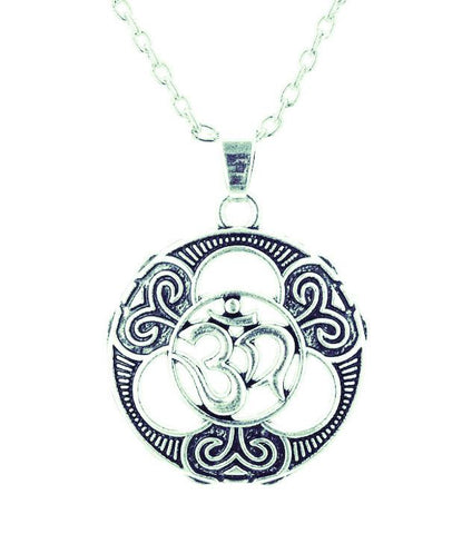 Gothic Om Hindu~Irish Knot Yoga Charm Indian Jewelry-Sunetra