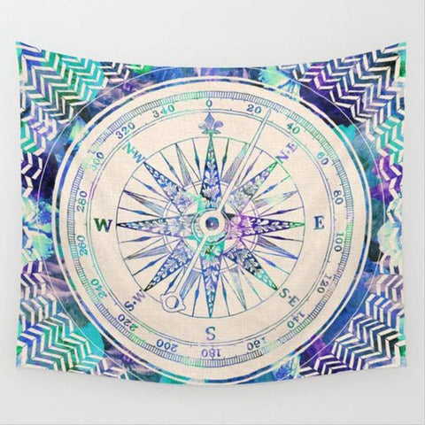 Indian Elephant Mandala Tapestry Hippie ~Tapestries Beach Throw Towel Yoga Mat ~ 150*130cm-Sunetra