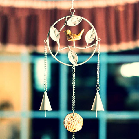 Japanese Metal Bird Wind Chimes ~-Sunetra