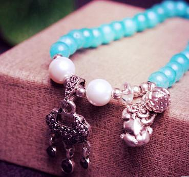 6mm Amazonite Stone 108 Prayer Beads Bracelet for Meditation ~ ॐ-Sunetra