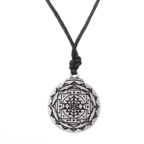 3rd Eye ~ Sri Yantra Necklace Jewelery-Sunetra