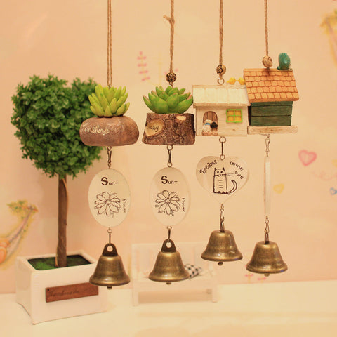 Sedum Adolphii Tree Flower Grass Copper ~ Wind Chime Relaxing Windchime Bells-Sunetra