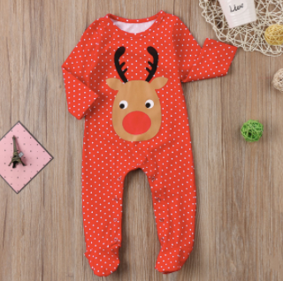 Snow Cute Reindeer Romper