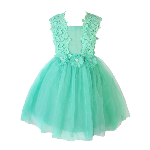 Lovely Pearl Lace Dress (Mint or Pink!)