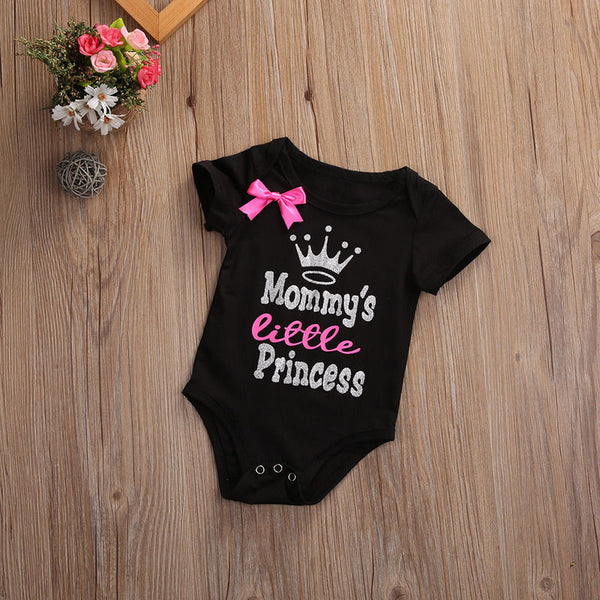 outfit for baby girls, mommy's little princess boutique onesie