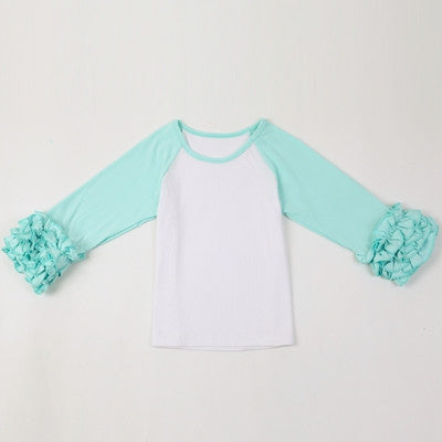 Ruffled Raglan Tops (12m-4T)