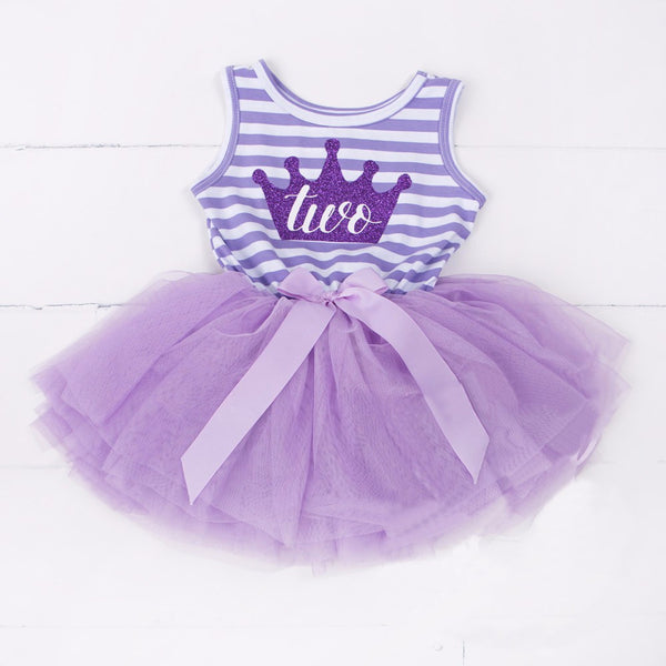 2nd birthday outfit for girls, tutu princess dress for second birthday