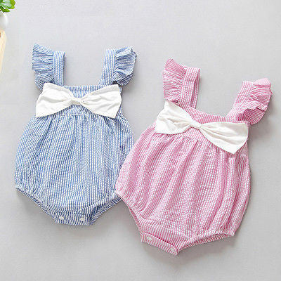 cute bubble romper for baby girls, baby girl shower gift, summer romper boutique for baby girls