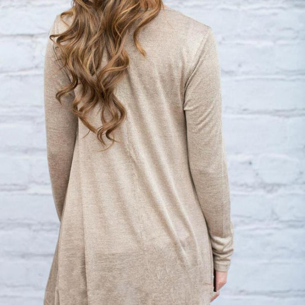 Lace Trim Tunic Top