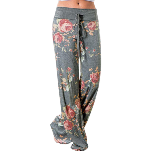 floral lounge pants for ladies, comfortable yoga pants