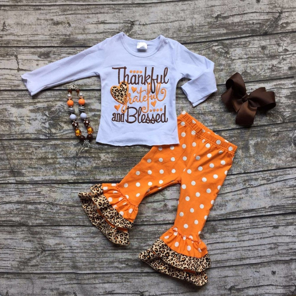 Thankful Grateful Blessed Outfit – BelleBug