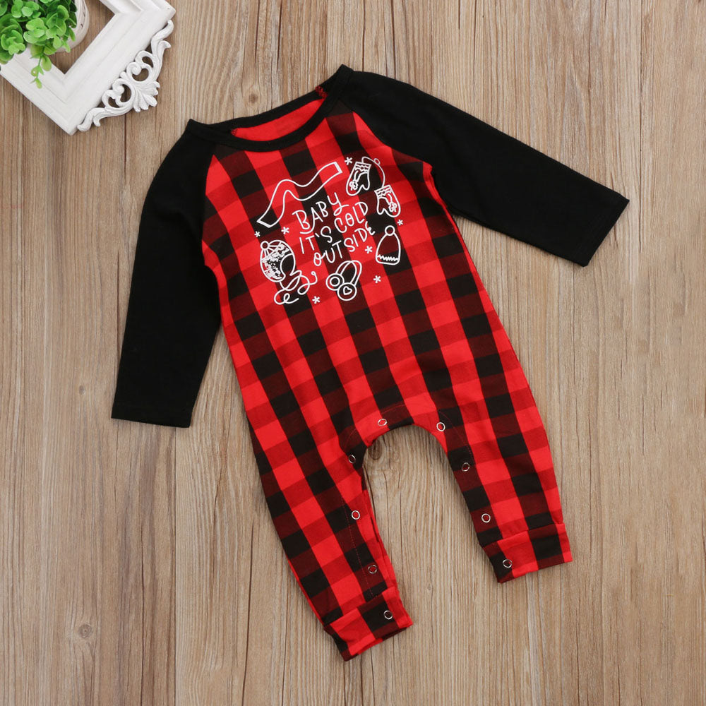 c80d02b3fccc outlet boutique dc3e9 4ba52 cute baby christmas romper red plaid and ...