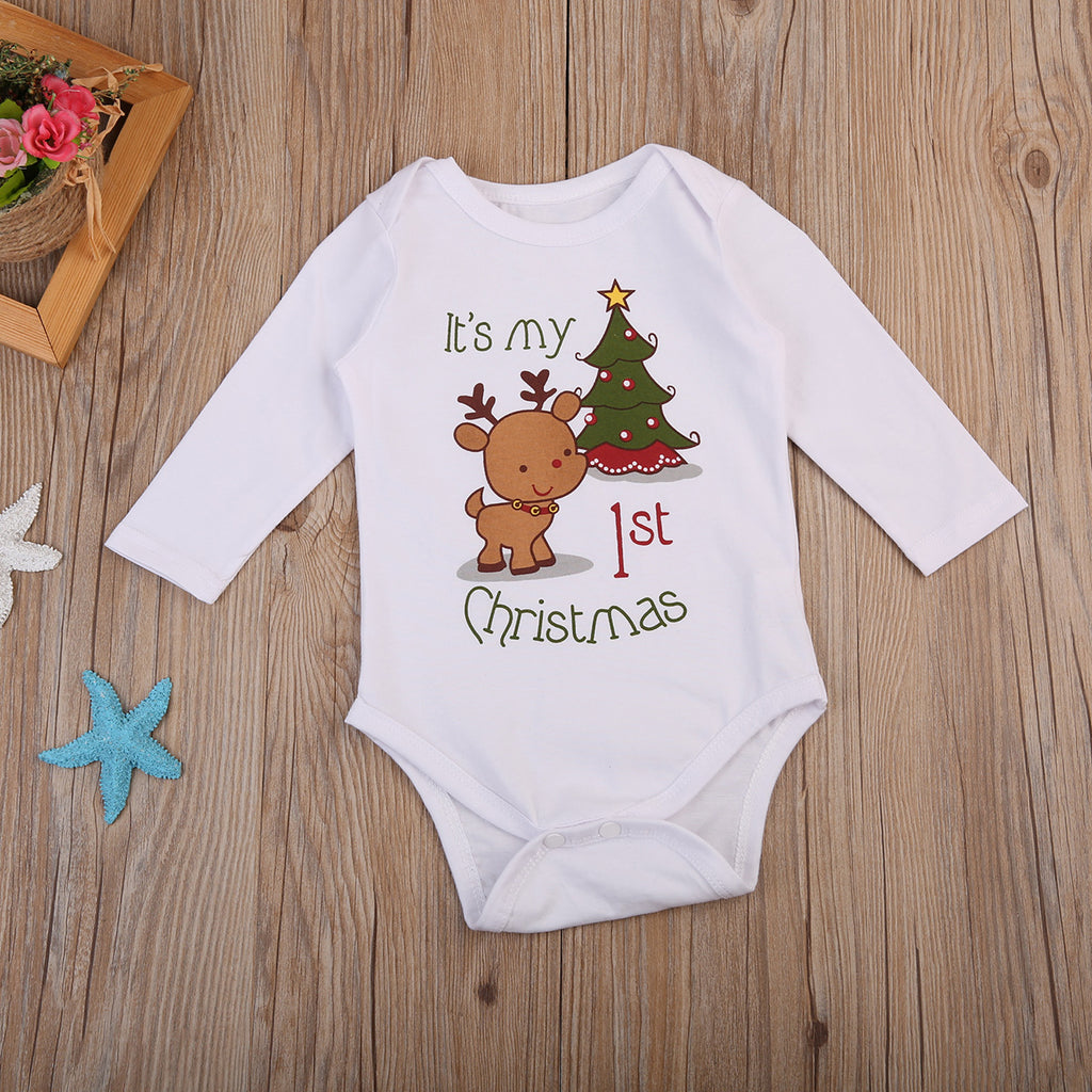 65735ef14 my first christmas outfit for boys and girls, 1st Christmas outfit baby