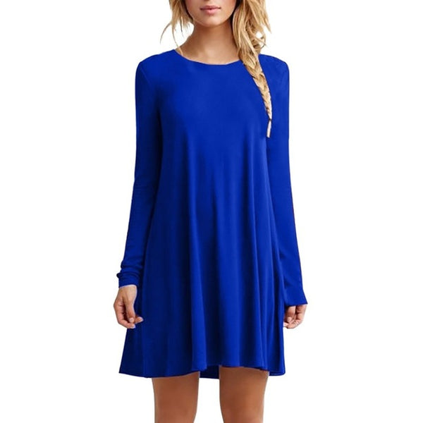 cute tunic top for ladies, fashion tunic, mini dress for women, fall dress super soft