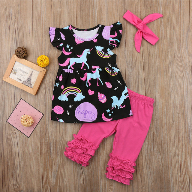 Unicorn Capri 3pc Set