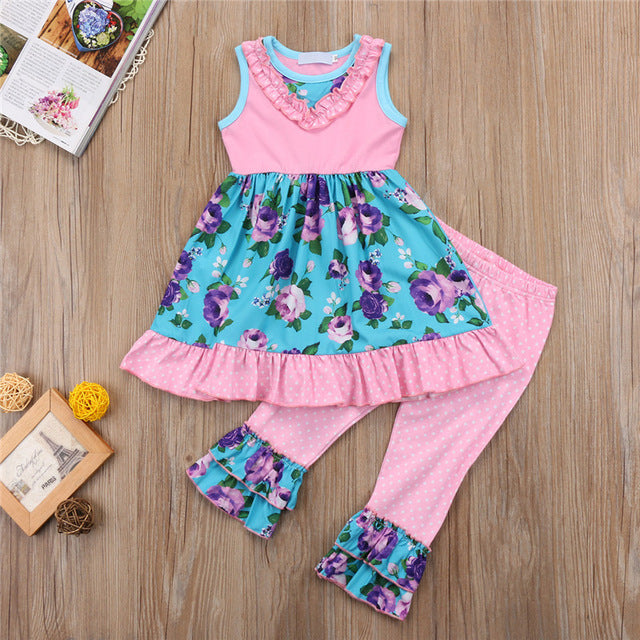 cute spring boutique outfits for little girls, toddler girl boutique sets, spring outfits for girls, wholesale boutique