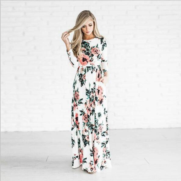 long floral maxi, fall maxi dresses, fall fashion pinterest, Christmas gifts for women