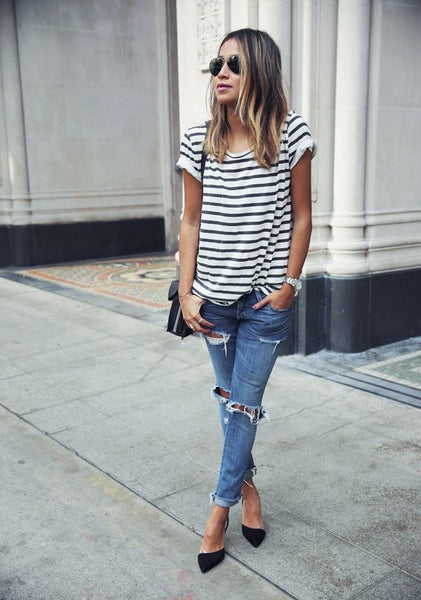 Comfy Striped Summer Top