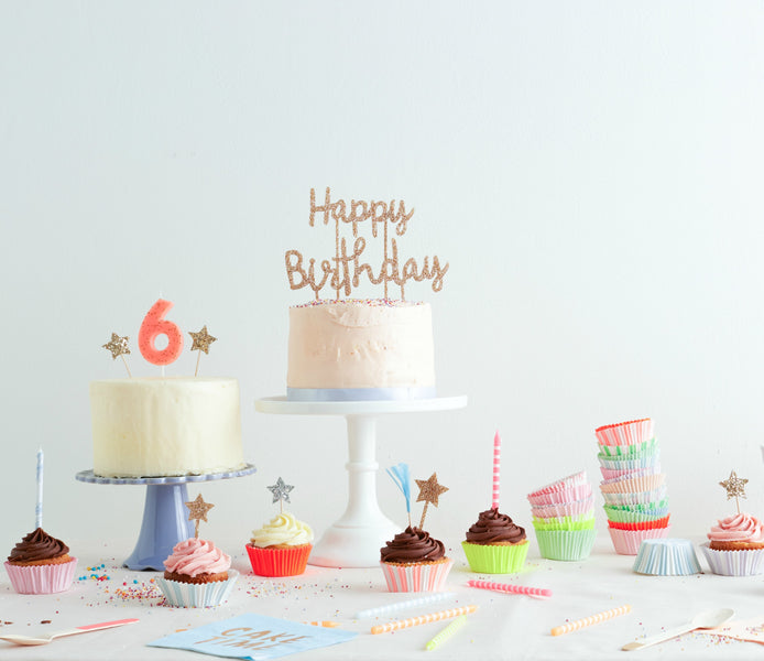 Cake Toppers, Cupcake Liners &  Cupcake Kits
