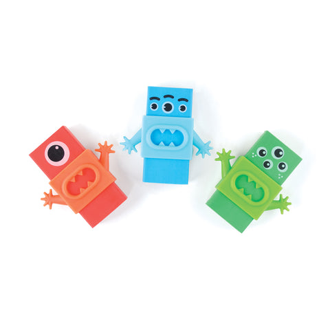Monster Erasers (3-pack)