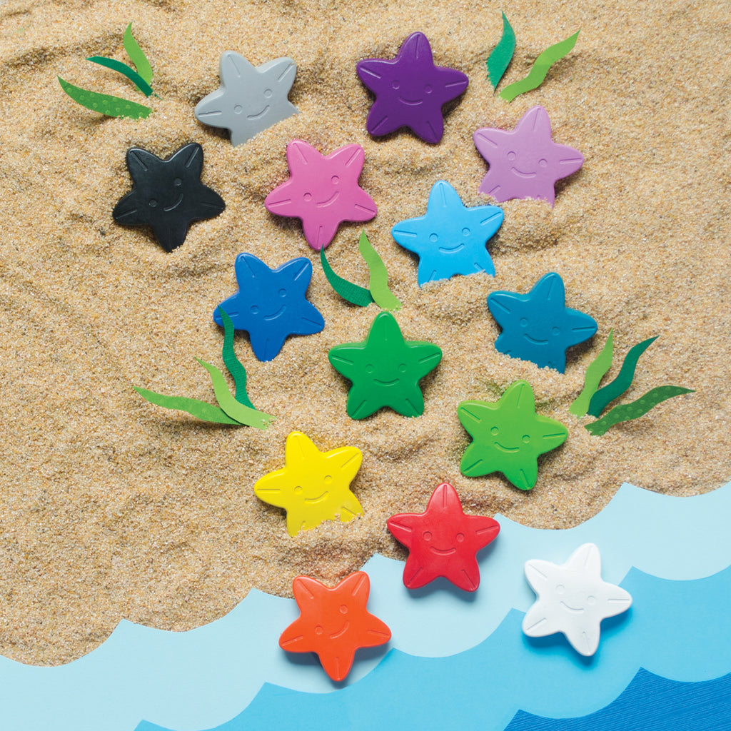 Stars of the Sea Crayons (16-pack)