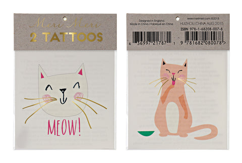 Kitty Cat Tattoos