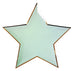 Colorful Star Paper Plates