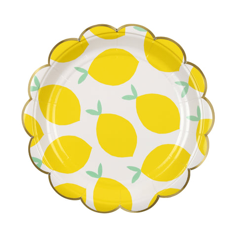 Lemon Paper Plates (Small)