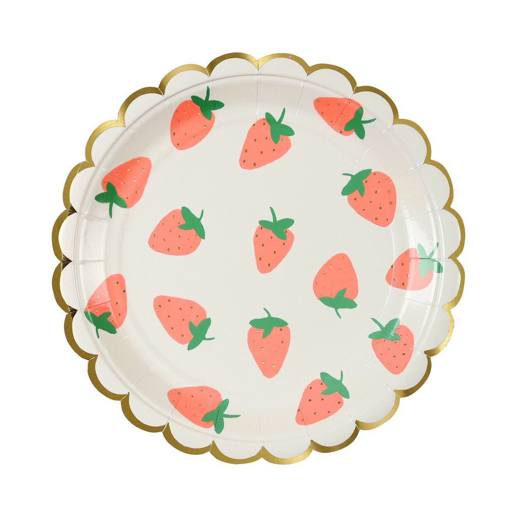 Strawberry Paper Plates (Small)