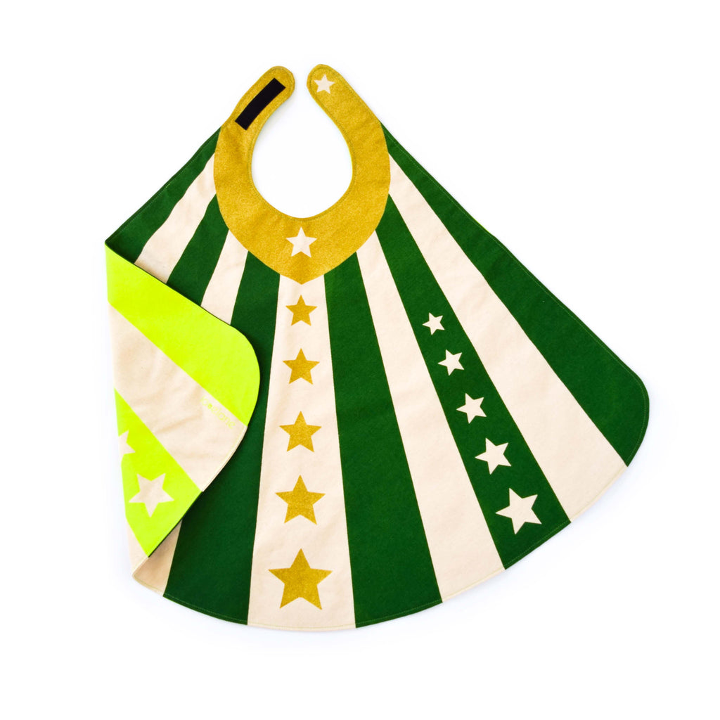 Cape for Superheroes in Green