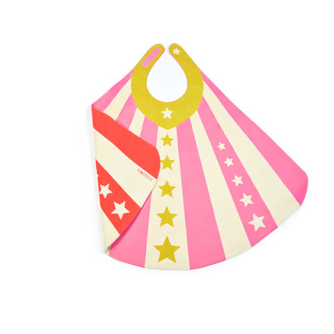 Cape for Superheroes in Pink