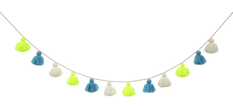 Wool Tassel Garland