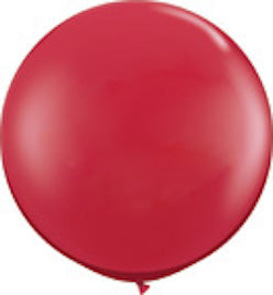 "36"" Jumbo Round Latex Balloon in Various Colors"
