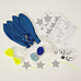 Beautiful Balloon Kit in Blue (8-pack)