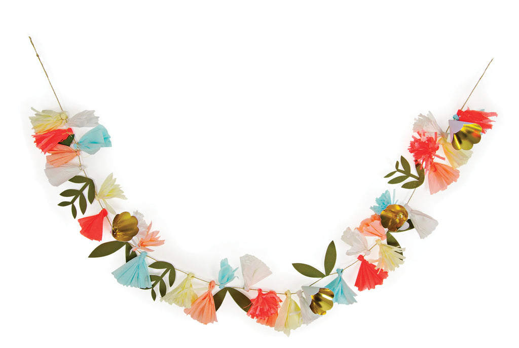 Flower Bouquet Paper Garland