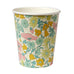 Liberty Poppy and Daisy Paper Cups