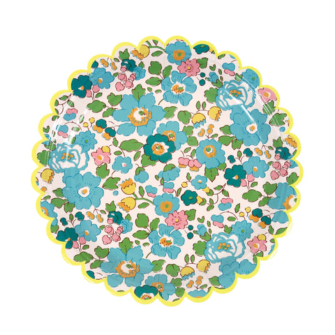 Liberty Green Betsy Paper Plates (Small)