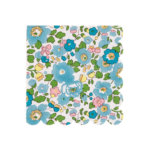 Liberty Green Betsy Napkins (Small)