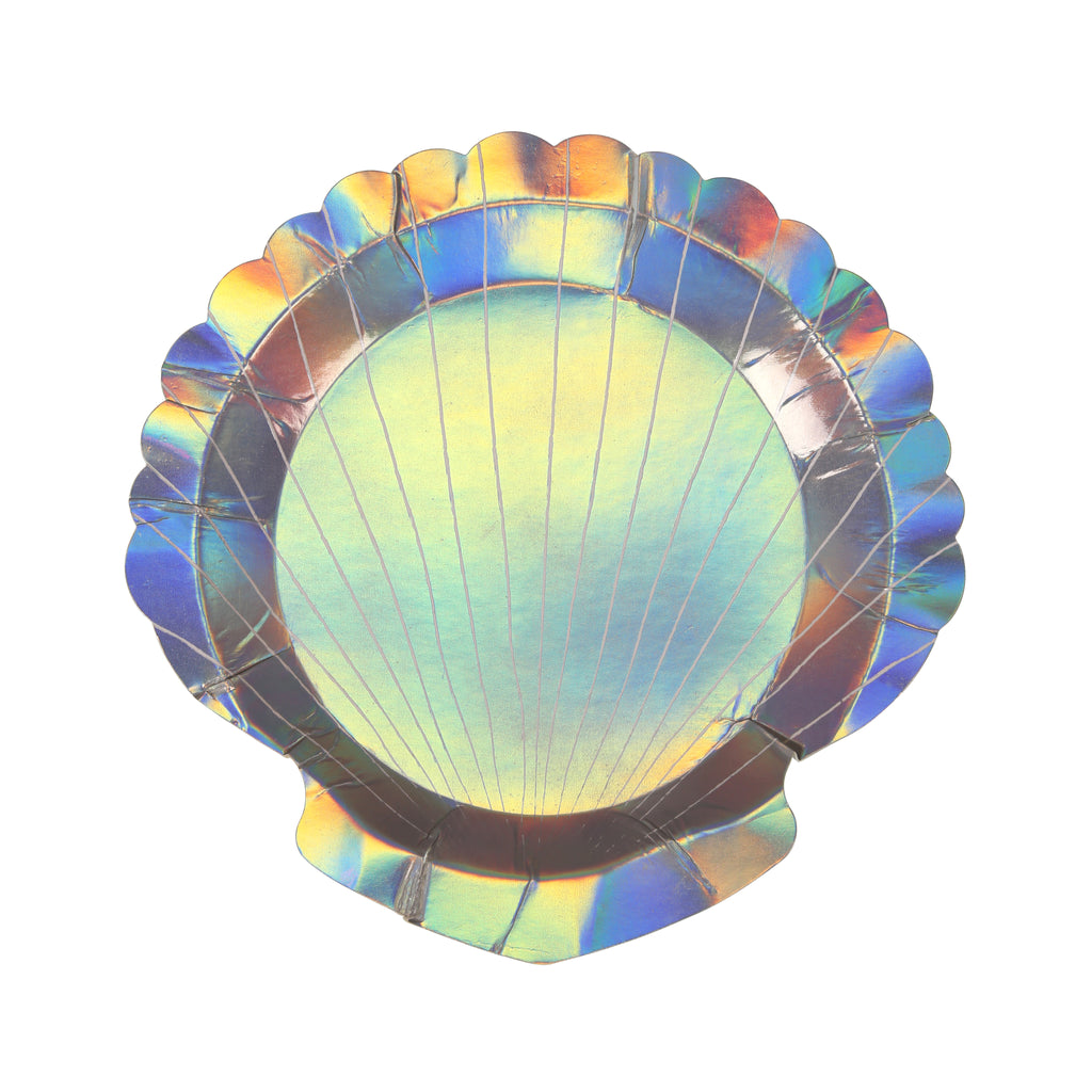 Shell Paper Plates (Small)