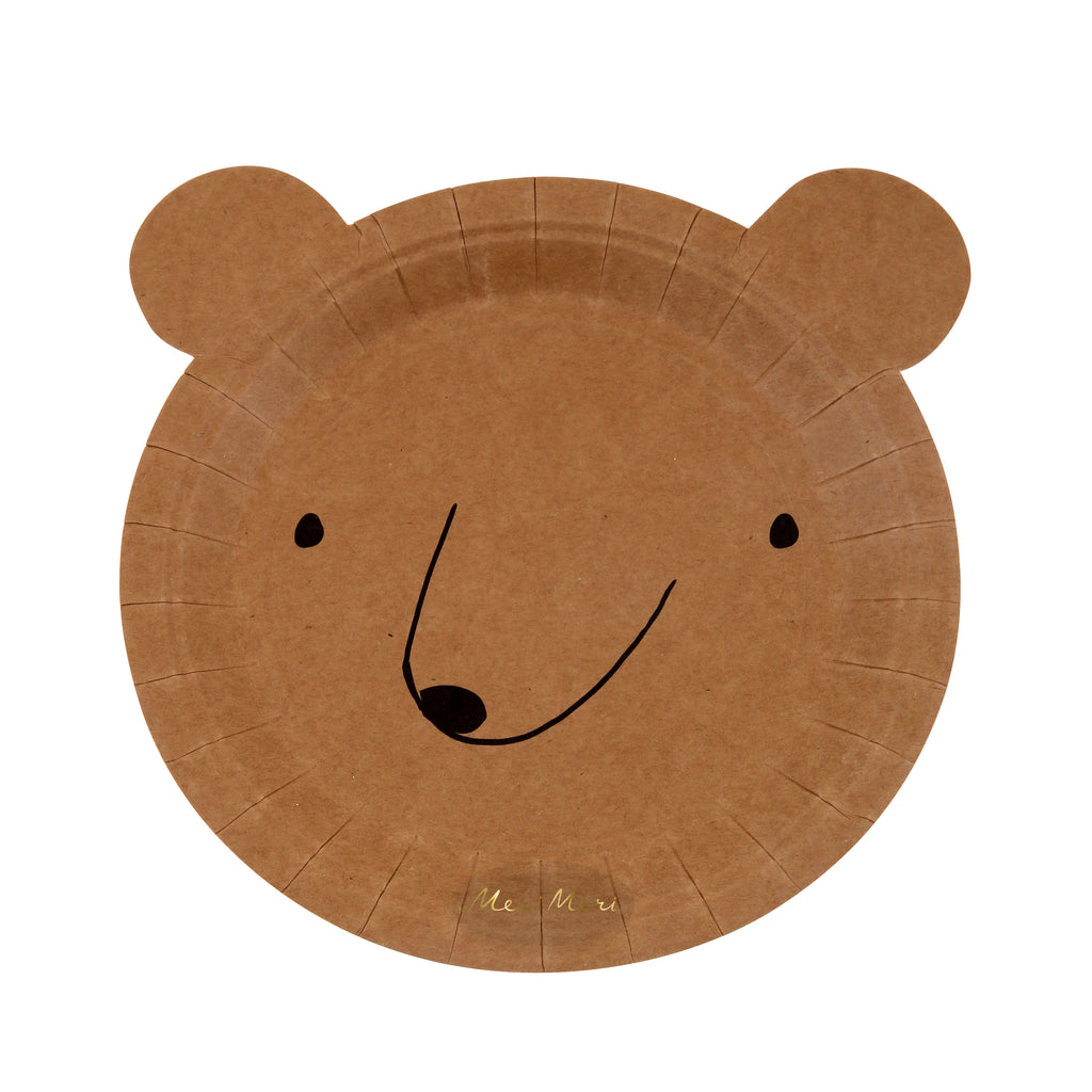 Bear Paper Plates (Small)