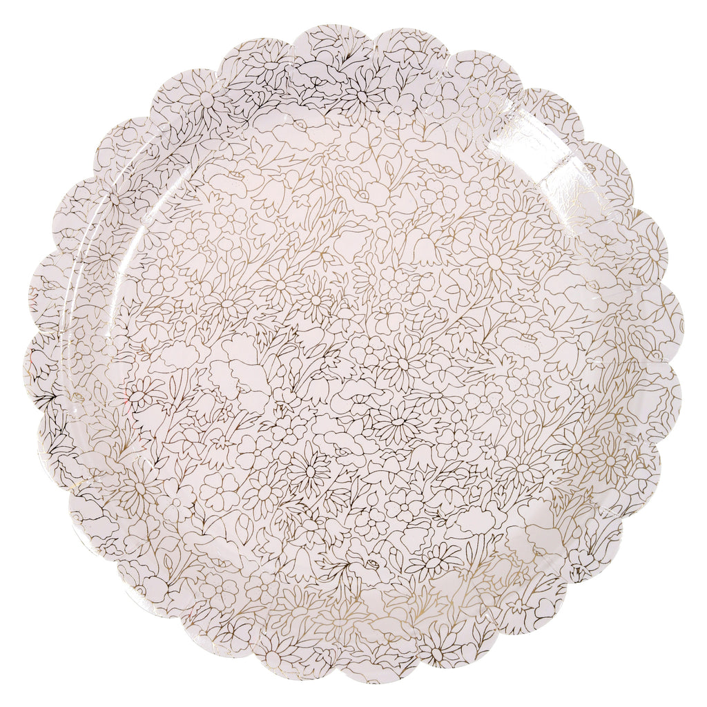 Liberty Gold Betsy Paper Plates (Large)