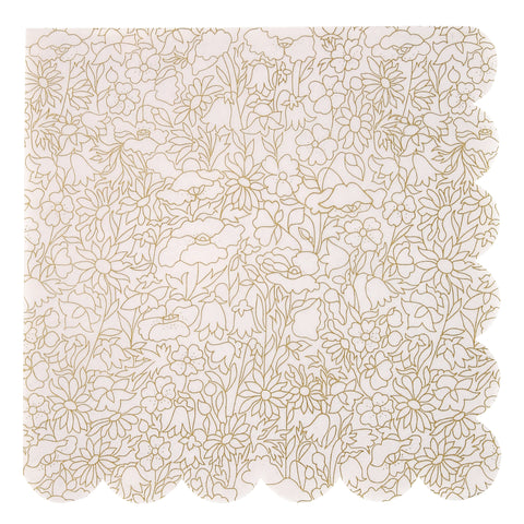 Liberty Gold Betsy Napkins (Large)