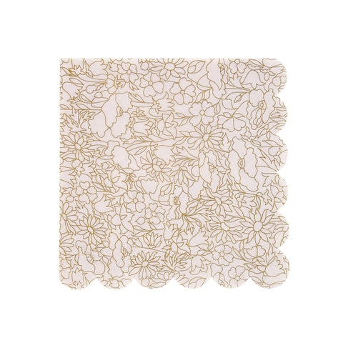 Liberty Gold Betsy Napkins (Small)