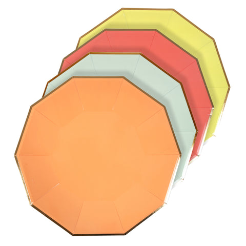 Neon Paper Plates (Large)