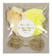 Neon Yellow Star Balloons (8-pack)