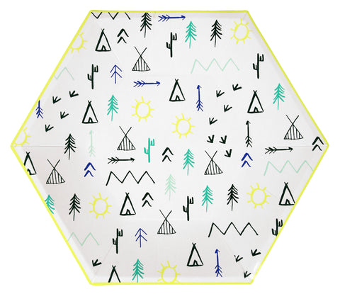 Little Adventures Paper Plates (Large)