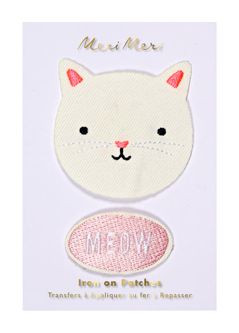 Kitty Cat Iron-On Patches