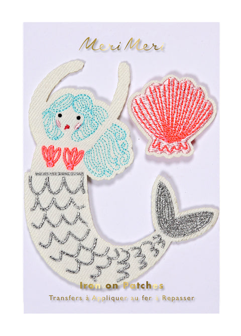 Mermaid Iron-On Patches