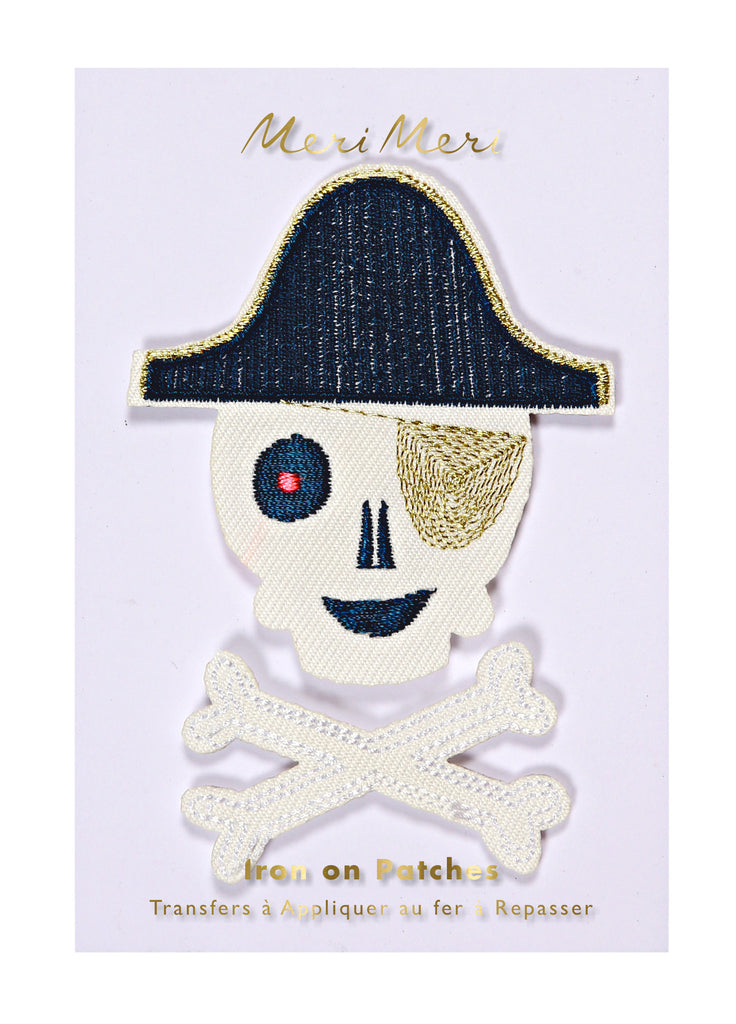 Pirate Iron-On Patches