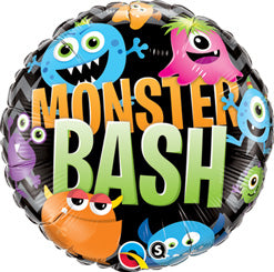 """Monster Bash"" Mylar Balloon"